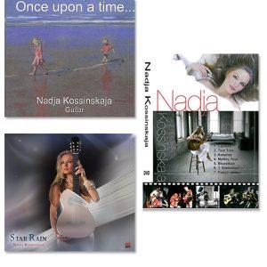 CD Once Upon A Time + CD Star Rain + DVD Nadja Kossinskaja