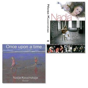 CD Once Upon A Time + DVD Nadja Kossinskaja