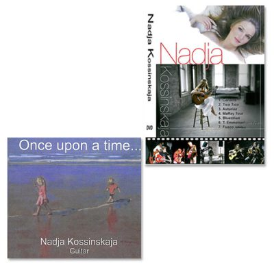 CD Once Upon A Time + DVD Nadja Kossinskaja