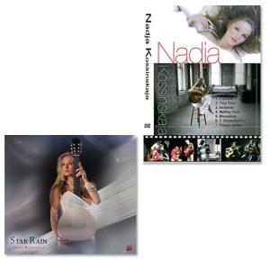 CD Star Rain + DVD Nadja Kossinskaja