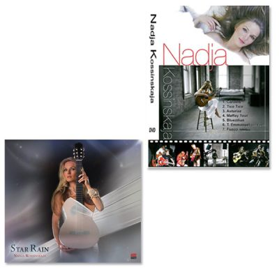 CD Star Rain + DVD Nadja Kossinskaja