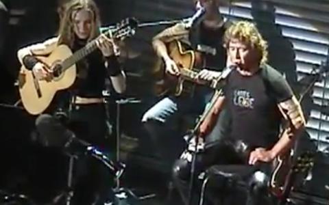 Nadja Kossinskaja und Peter Maffay on Tour 2005